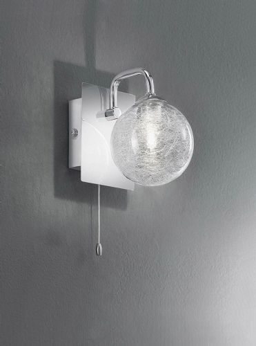 Franklite FL2313/1 Chrome Wall Light